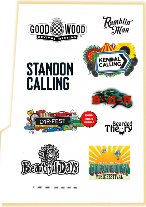Barnaby Sykes will be at Good Wood Revival Meeting, Ramblin' Man Festival, Standon Calling, Kendal Calling, Car-Fest, B-O-A, Bearded Theory, Beautiful Days and the Cornbury Music Festival